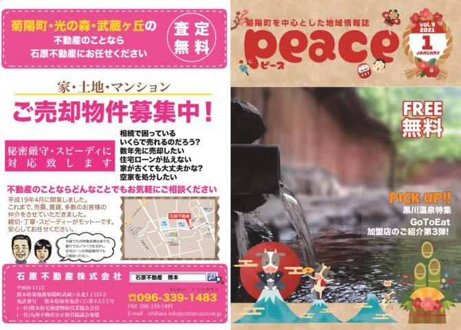 peace(ピース)2021年1月号