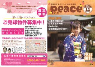 peace(ピース)2020年11月号
